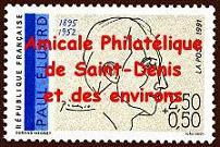 AMICALE PHILATÉLIQUE DE SAINT-DENIS ET DES ENVIRONS  - A.P.S.D.E. -